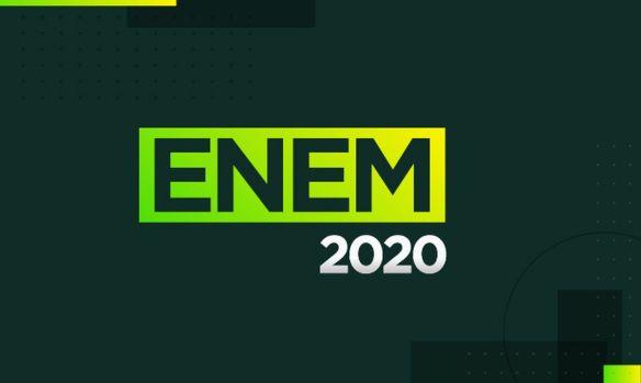 Imagem de capa para o Enem 2020.