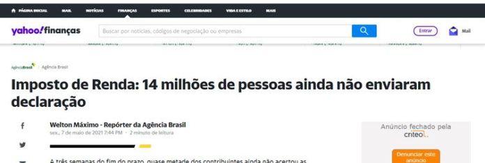 Imagens para matéria Agência Brasil