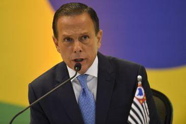 O governador eleito  João Doria (SP), durante Fórum de Governadores eleitos e reeleitos, em Brasília.
