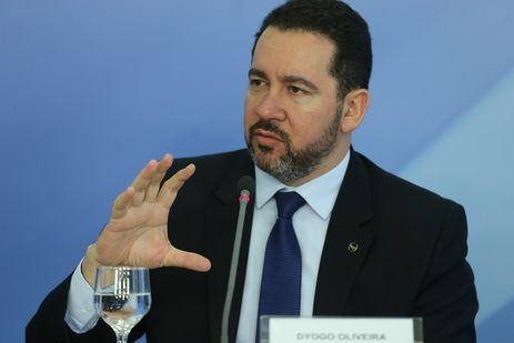 Brasília - O ministro do Planejamento, Dyogo Oliveira durante coletiva de imprensa no Palácio do Planalto (Valter Campanato/Agência Brasil)
