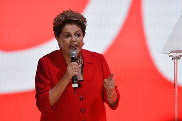 Presidenta Dilma Rousseff na Convenção Nacional do PT
