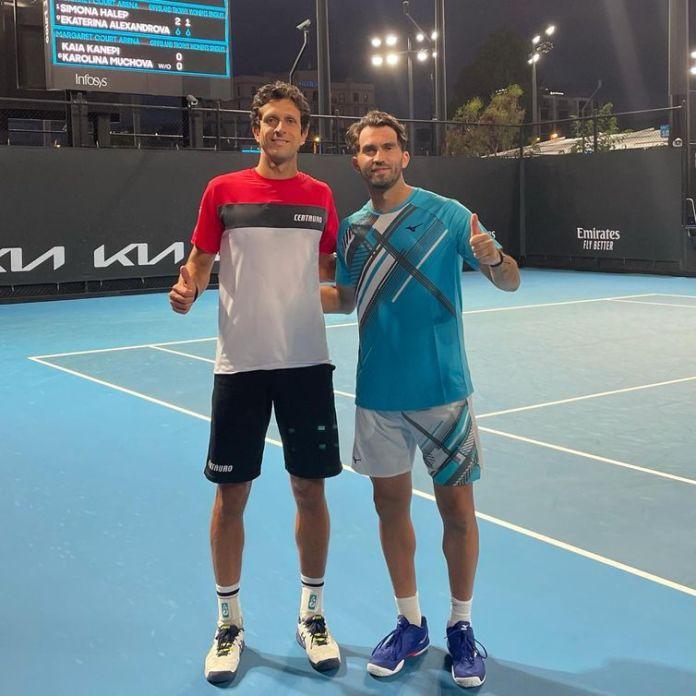 Marcelo Melo e HoriaTecau - tênis -  duplas - tenista - Melbourne