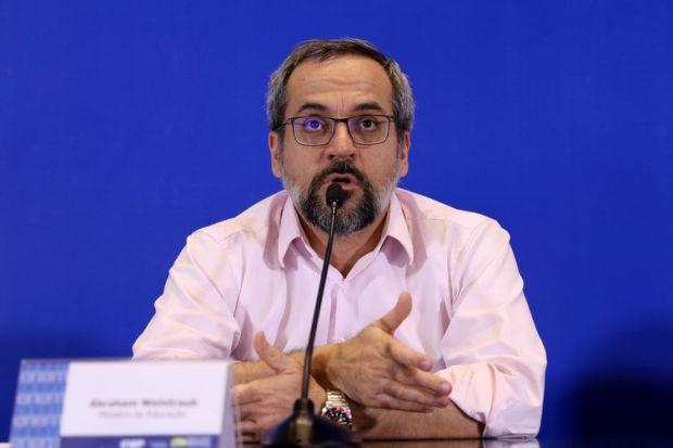 O Ministro da Educação, Abraham Weintraub, falam sobre primeiro dia de provas do ENEM