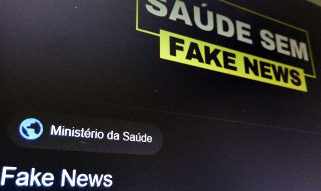 Ministério da Saúde lança serviço de combate à Fake News