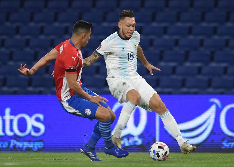 Eliminatórias Sul-americanas para a Copa do Mundo de 2022 - Argentina x Paraguai