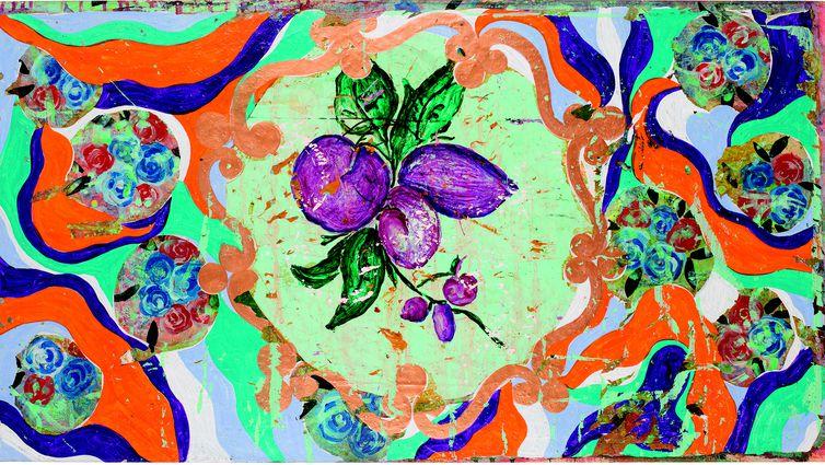 Sem título, 1990-1992 Acrílica sobre tela  57 x 104 cm  Coleção particular, Bandeirantes, Paraná  Foto: Romulo Fialdini