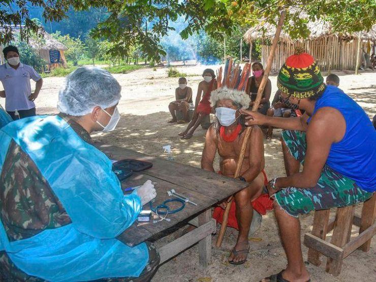 Atendimento médico: comunidades indígenas recebem apoio no combate à Covid-19