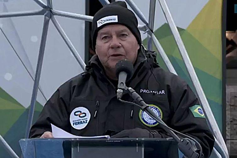 Brasil reinaugura a Estação Comandante Ferraz na Antártica