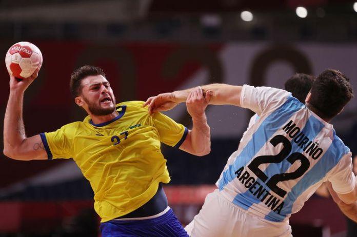 argentina, brasil, handebol, tóquio 2020, olimpíada