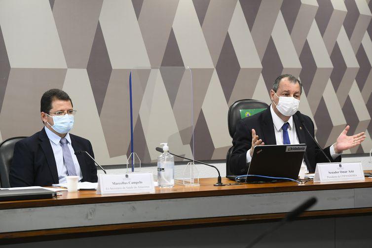 Comissão Parlamentar de Inquérito da Pandemia (CPIPANDEMIA) realiza oitiva do ex-secretário de Saúde do Amazonas.   O objetivo é esclarecer o colapso noestado no início de 2021, com falta de leitos e de oxigênio medicinal nos hospitais que