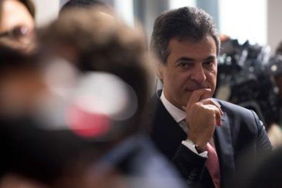 Governador do Paraná, Beto Richa, durante sabatina na Comissão de Constituição e Justiça de Luiz Edson Fachin, indicado pela presidenta Dilma Rousseff para ministro do STF (Marcelo Camargo/Agência Brasil)