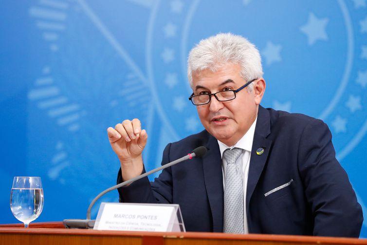 Ministro da Ciência, Tecnologia, Inovações e Comunicações - Marcos Pontes.