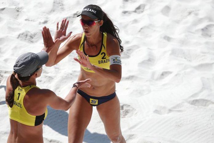 Talita e Taiana, vôlei de praia