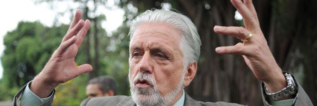 O governador da Bahia, Jaques Wagner