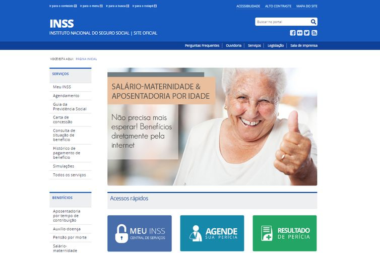 Site do INSS