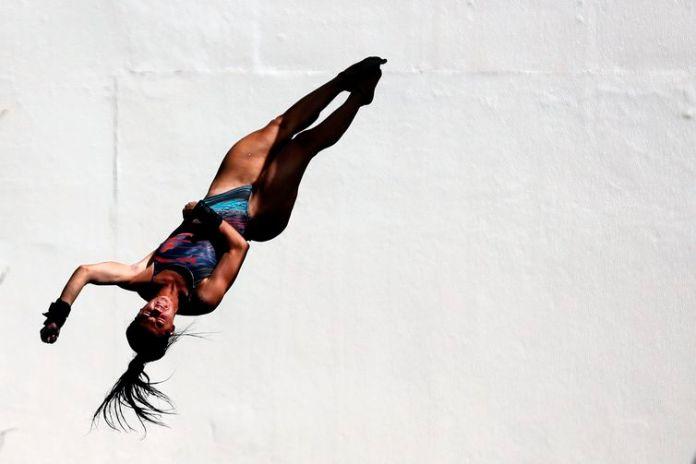 Giovanna Pedroso. Trofeu Brasil de Saltos Ornamentais, realizado no Parque Aquatico Julio de Lamare. 04 de Abril de 2018, Rio de Janeiro
