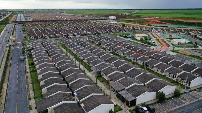 Unidades habitacionais do Residencial Oiticica I