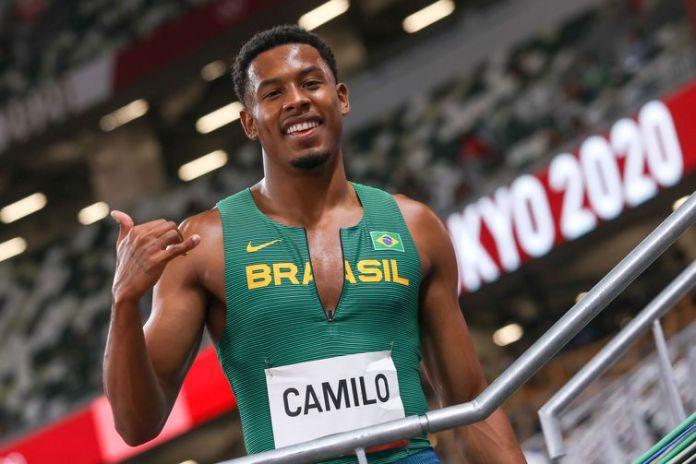 Paulo André -  Representante nos100m