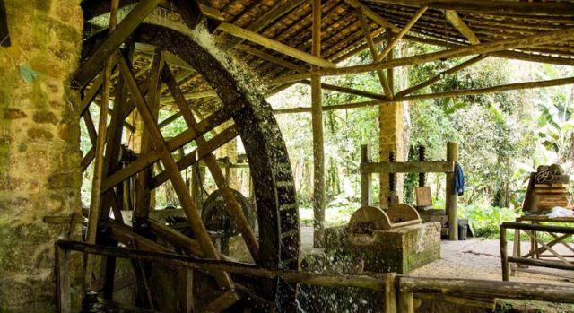 Roda d'água no Quilombo da Fazenda