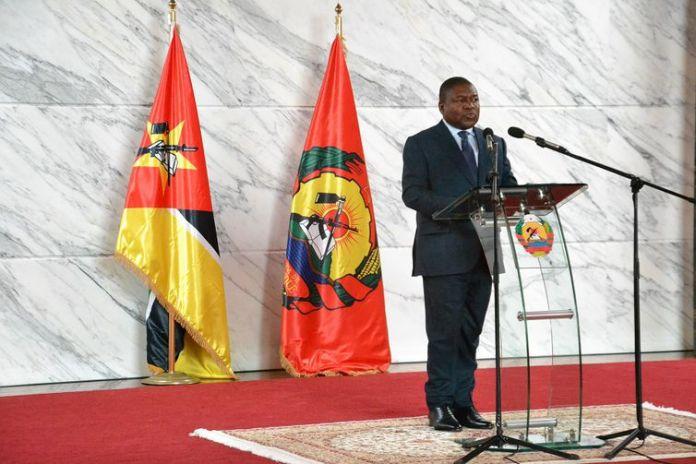 Presidente da República de Moçambique, Filipe Jacinto Nyusi.