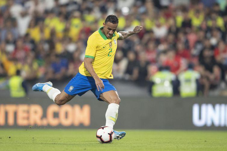 Danilo fez o terceiro gol da seleção, aos 14 minutos do segundo tempo