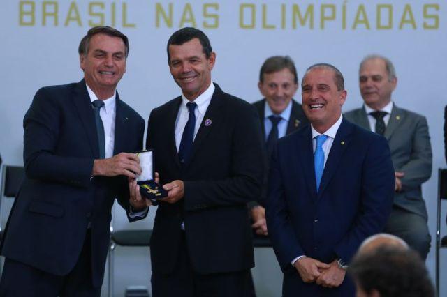 Torben Grael participa do Lançamento do Centenário Olímpico