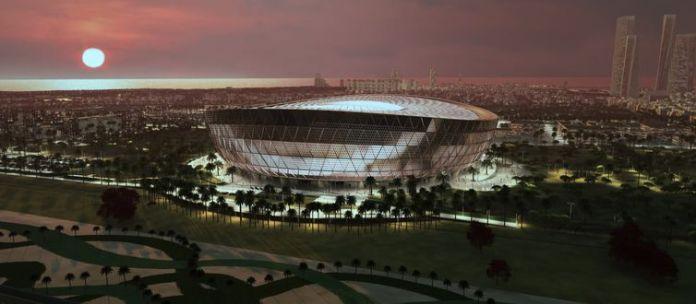 Estádio de Lusail, local da final da Copa do Catar 2022