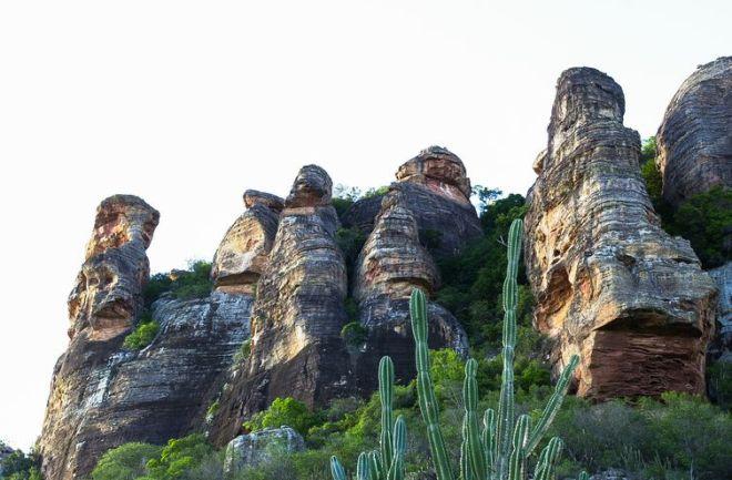 São Raimundo Nonato(PI) - O Parque Nacional da Serra da Capivara, no Piauí, está ameaçado pela falta de recursos. Unidade de conservação arqueológica é Patrimônio Mundial da Unesco (Marcello Casal Jr/Agência Brasil)
