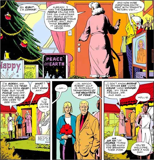 A hq Watchmen e a inspiração para seu final