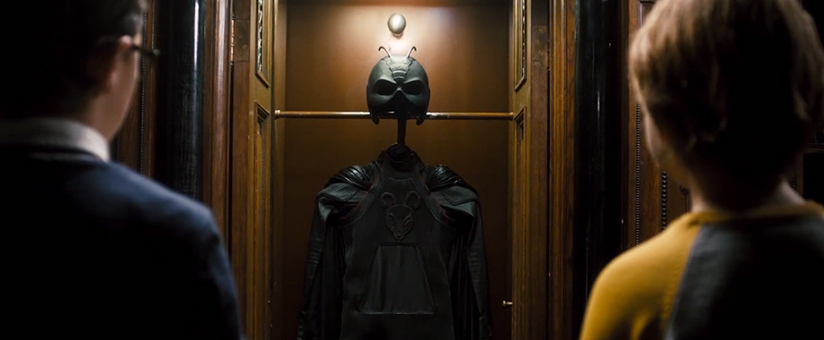 Vestimentas do Garoto Formiga dinamarquês