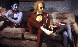 "Cena do ""terrir"" Beetlejuice de 1988"