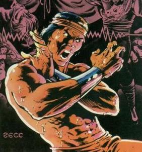 Shang-Chi clássico, desenhado por Paul Gulacy!