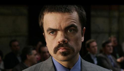 Tyrion Lannister como um  dos advogados da máfia