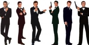 Os 6 que já interpretaram Bond