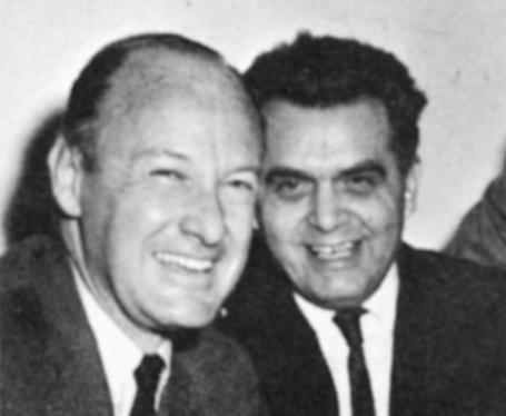 Stan Lee, antes da peruca, e Jack Kirby