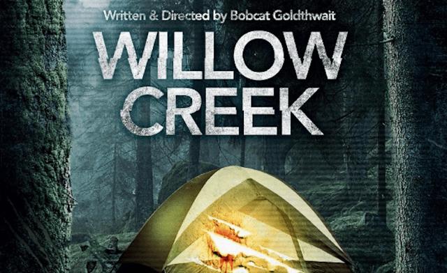 No filme Willow Creek, temos o Pé Grande aterrorizando um casal!