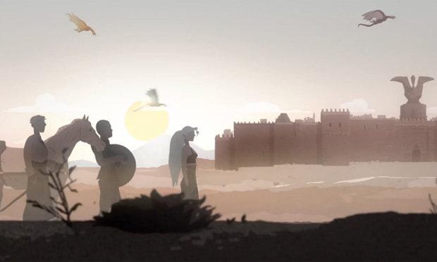 Animação Game of Thrones