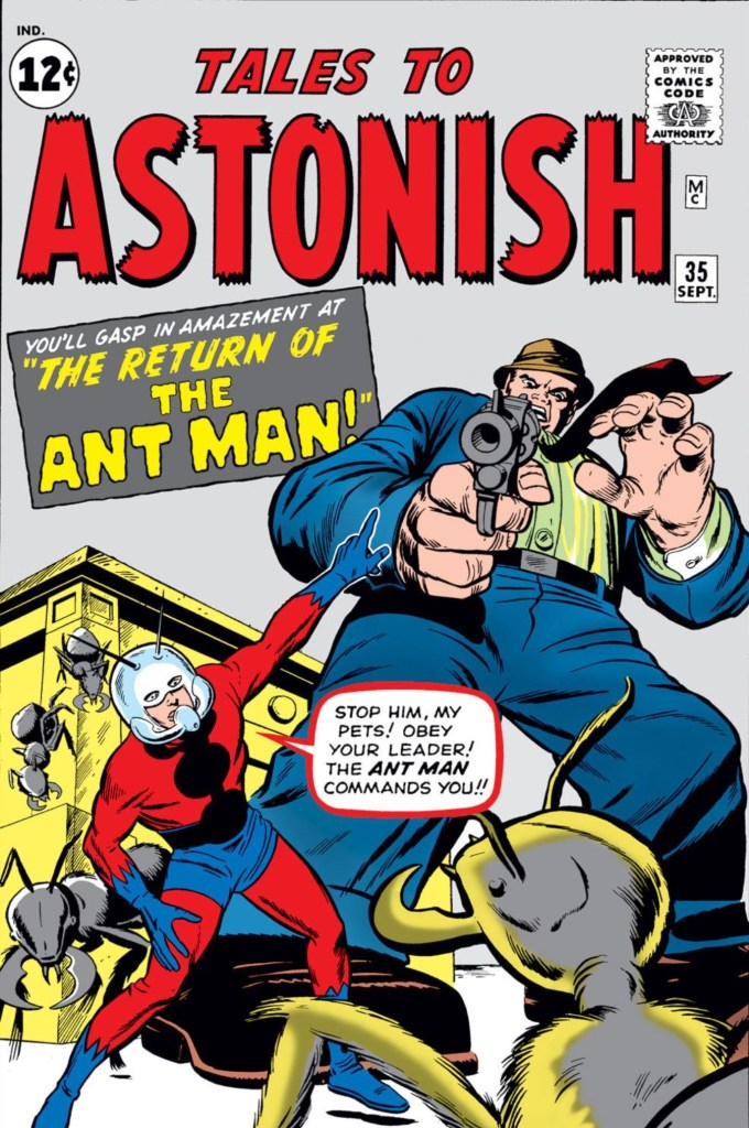 Tales to Astonish - Ant Man