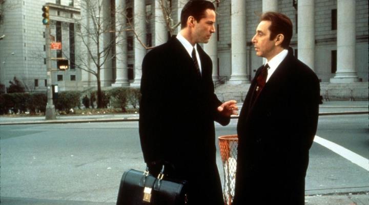 Reeves e Pacino no longa