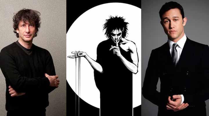 Neil Gaiman e Joseph Gordon-Levitt
