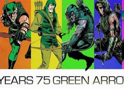 Arqueiro Verde 75 anos