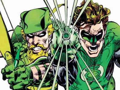 Lanterna Verde e Arqueiro Verde
