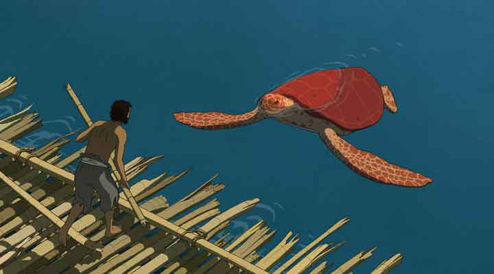 A Tartaruga Vermelha - Studio Ghibli