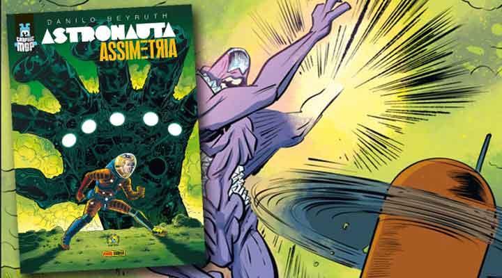 Astronauta - Assimetria   Terceiro album de Danilo Beyruth com o personagem