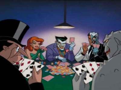 Card game Almost Got Im coloca Batman e seus vilões em uma mesa de poker