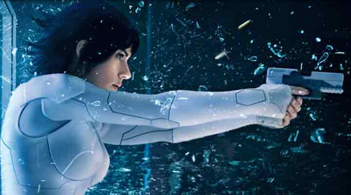 ghost in the shell filme e outras estreias