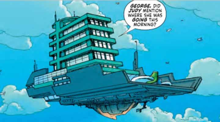 DC reinventa The Jetsons com uma pegada de Black Mirror