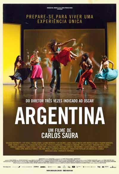 O filme Argentina, de Carlos Saura, é uma celebração dos ritmos regionais dos nossos vizinhos.