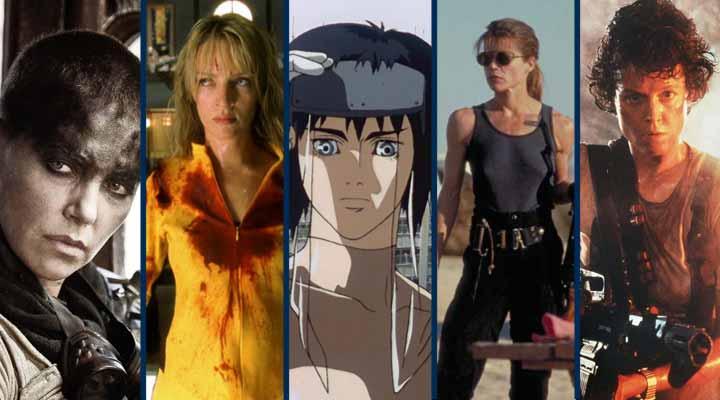 Lista com 5 das maiores Heroinas cinema