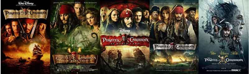 Ranking da franquia Piratas do caribe